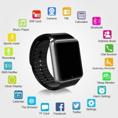 GT08 Bluetooth Smart Watch avec Camera avec Fente