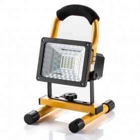 Projecteur Led Rechargeable Super Lumineuse 15W Floodlight