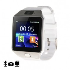 Montre connectee smartwatch pour iphone & android- Blanc Argenté