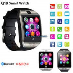 Lot de 2 Montre connectee bluetooth ou carte sim Noir et Grise pour android & iphone avec pho