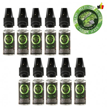 Lot de 10 flacons 10ml- Green Haze