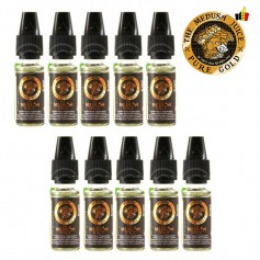 Lot de 10 flacons 10ml-Pure gold
