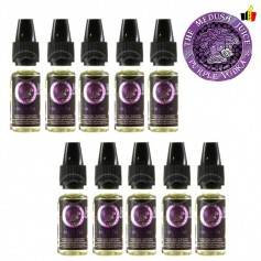 Lot de 10 flacons 10ml- Purple Vodka
