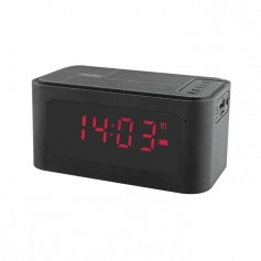 INOVALLEY RV17B Radio réveil Bluetooth - Noir
