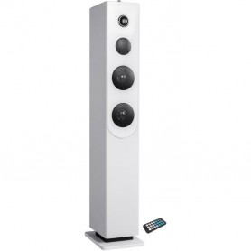Tour de son Bluetooth - Lecteur CD - Blanc