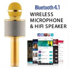 OR sans fil karaoké de poche Bluetooth lecteur microphone maison micro KTV pour iPhone 6 6s 7 5S ipad Samsung Tablets PC
