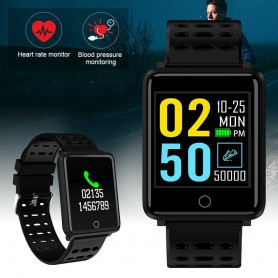 Montre connectée bluetooth DEALSTORE-Noir