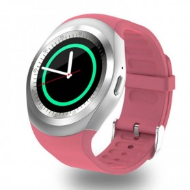 Montre connectee Bluetooth Podometre Sportif-Rose