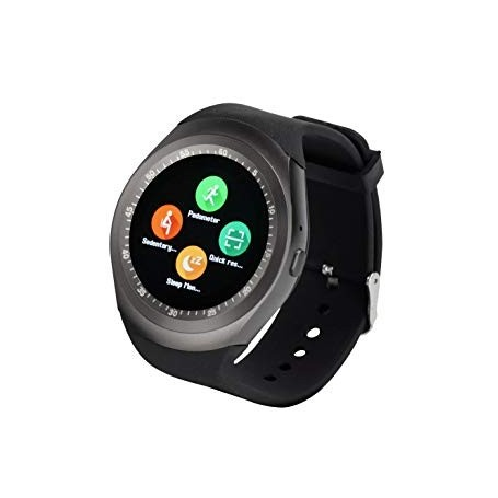 Montre connectee Bluetooth Podometre Sportif-Noir