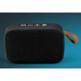 Enceinte bluetooth rectangle avec RADIO FM-Noir