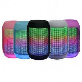 Enceinte bluetooth MP3 Usb portable éclairage LED