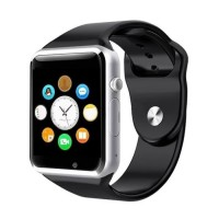 Montre Noir A1 Bluetooth LED