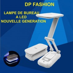 Lampe rechargeable multi position a 18 led